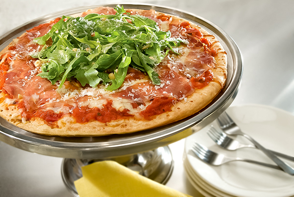 Prosciutto and Arugula Rustica Pizza