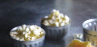 Olive Oil Drizzled Pecorino Popcorn