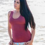 Model: Amanda Patterson Swim Rags – Bikini Beach Day