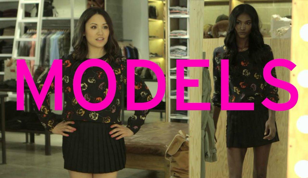 Glamour Presents: SRSLY, It's Fashion Week – MODELS EVERYWHERE