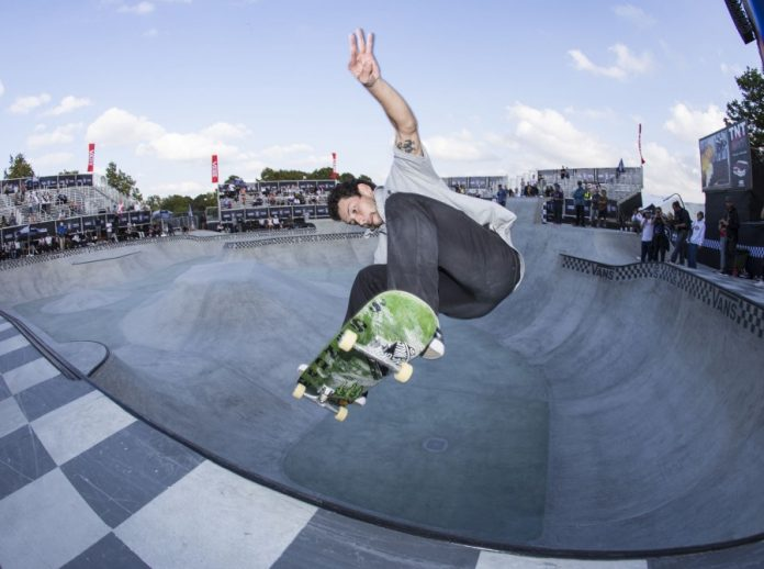 Monster Energy's Sam Beckett Takes Third Monster Energy's Sam Beckett Takes Third at the Vans Park Series Europa Continental Championships