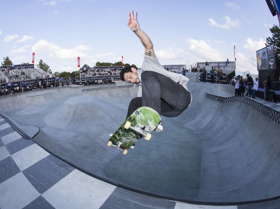 Monster Energy's Sam Beckett and Rune Glifberg Shine at the 2018 Vans Park Series Europa Continental Championships
