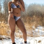 Model: Cianna Bouyer in Snow Bunny Shoot