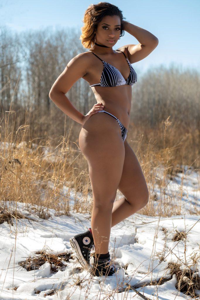Model: Cianna Bouyer in Snow Bunny Shoot
