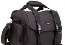 AmazonBasics Large DSLR Gadget Bag (Orange interior)
