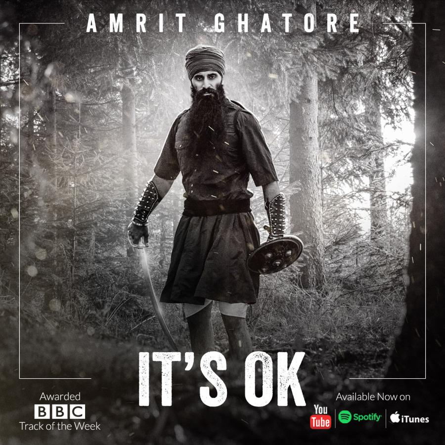 Amrit Ghatore Releases Brand New Music Video 'It's OK': A Tribute to the Sikh Soldiers in The Great War