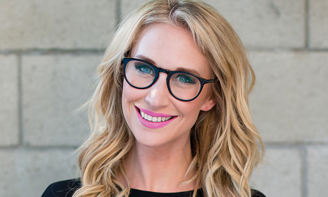 Pop culture expert Maude Garrett – TV and radio host, producer, voice actor and founder of GeekBomb.net | California Pretty Magazine