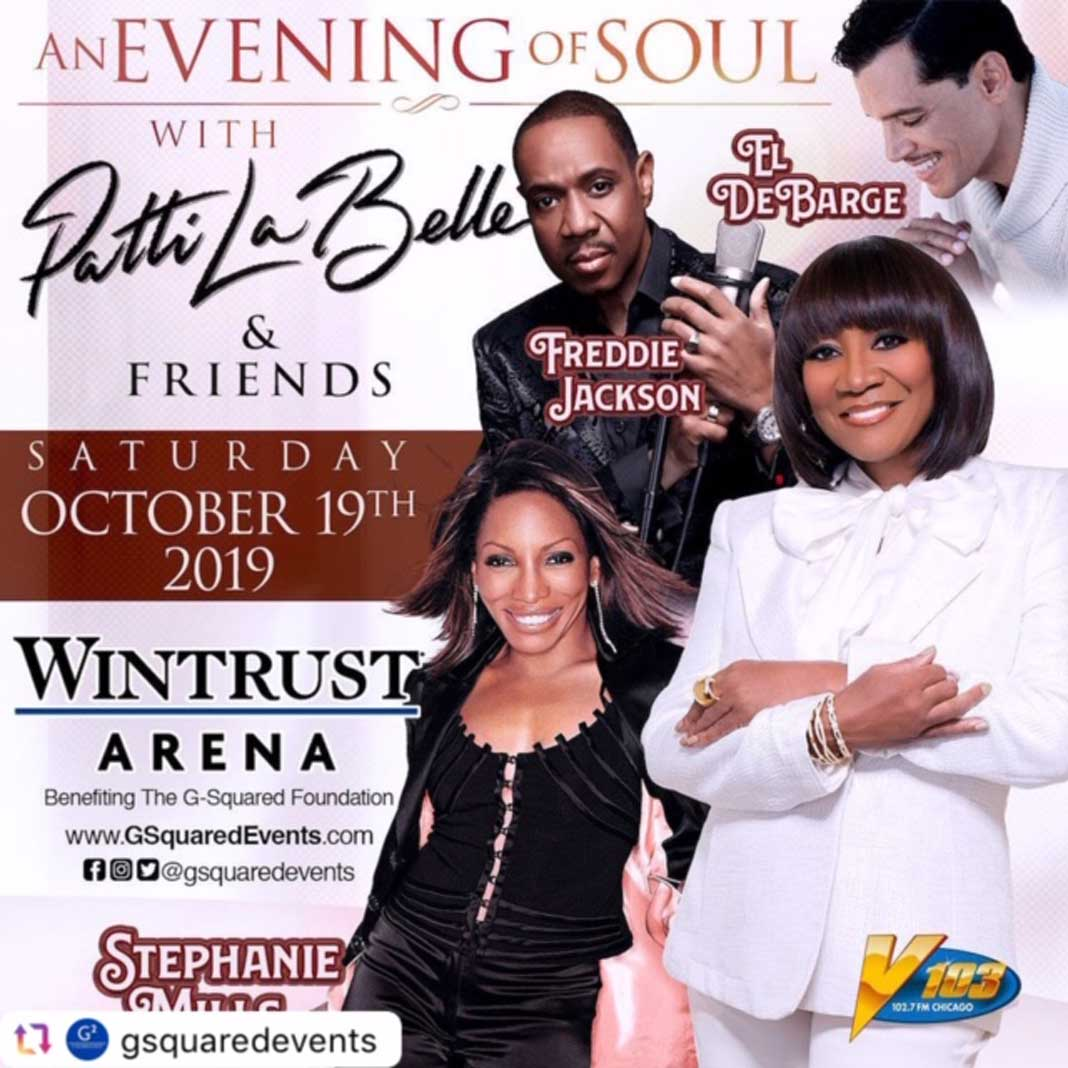 "G-Squared Events Presents ""An Evening of Soul"" with Patti LaBelle and Friends"