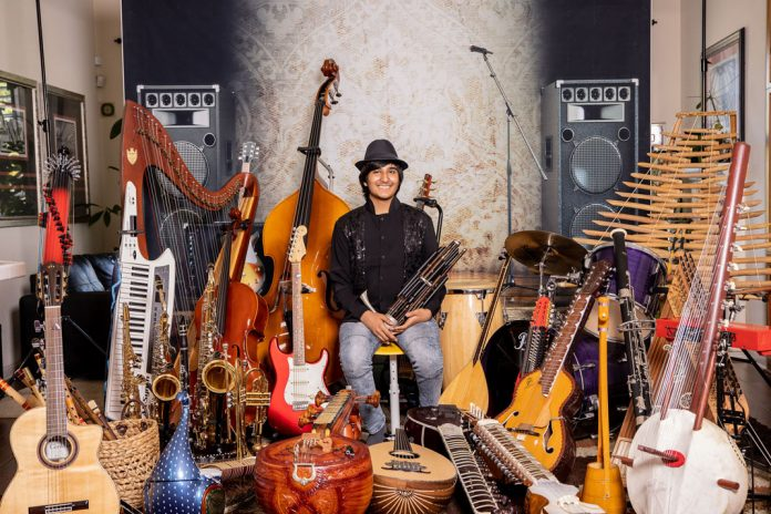 Neil Nayyar Musical Talent Plays Over 107 Musical Instruments | California Pretty Magazine