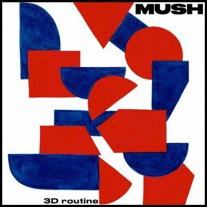 MUSH - 3rd Routine Album Cover Artwork