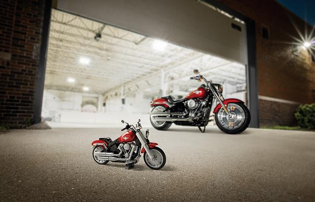 LEGO Harley-Davidson Fat Boy Kit for Kids Toy