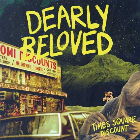 DEARLY BELOVED Times Square Discount Album Artwork | California Pretty Fashion Magazine