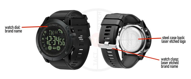 T1 Tact Smart Watch, Tactical Mens Watch | California Pretty Fashion Magazine