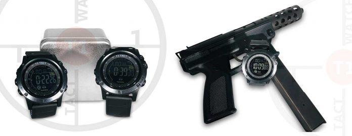 T1 Tact Watch with Tec-9 Semi-Automatic Hand Gun | California Pretty Fashion Magazine