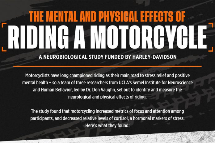 Why Motorcycling May Be the Answer to Lowering Stress Levels