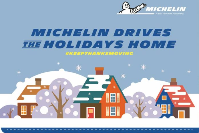 Michelin Christmas Holidays Infographic