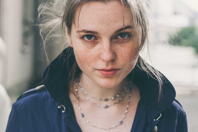 Beautiful Teen Model Wearing Layered Necklace Jewelry - California Pretty Magazine
