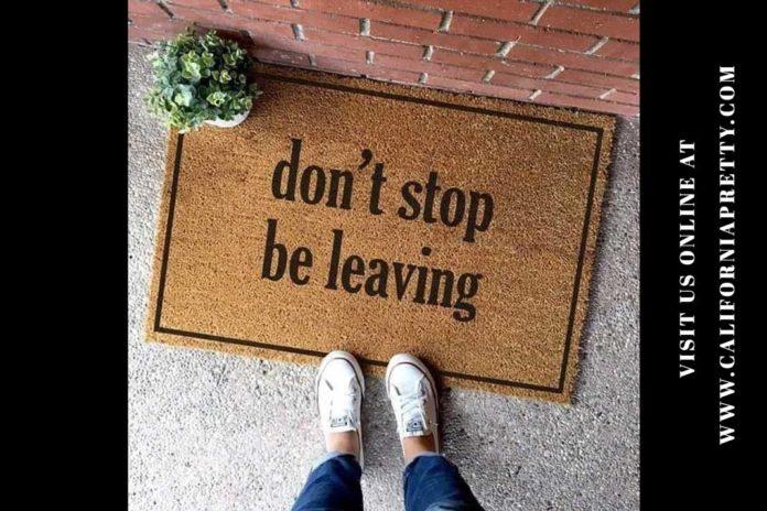 Song Meme: Don't Stop Be Leaving! - California Pretty Fashion Magazine